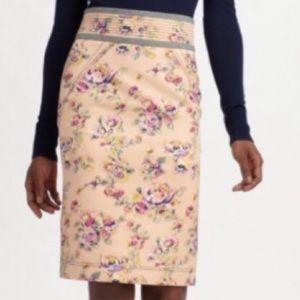 ZAC POSEN | Z Spoke Floral Pencil Skirt